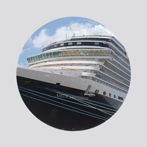 MS Nieuw Amsterdam Ornament (Round)