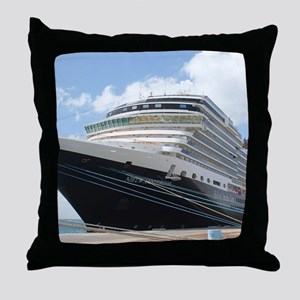 MS Nieuw Amsterdam Throw Pillow