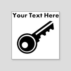 Custom Key Sticker
