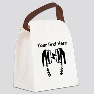 Custom Defibrillator Canvas Lunch Bag