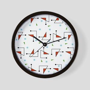 Retro Diodes Wall Clock