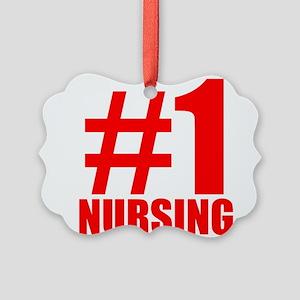 Number 1 Nursing Ornament