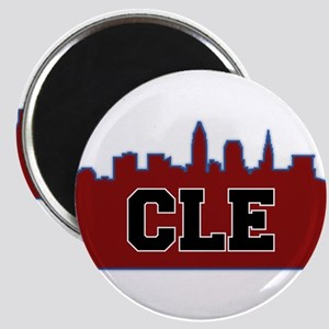 CLE Maroon/Black Magnets