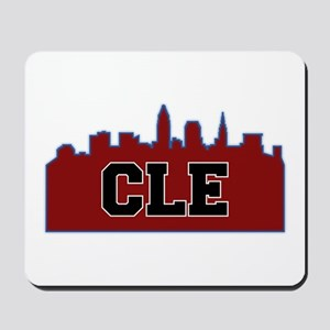 CLE Maroon/Black Mousepad