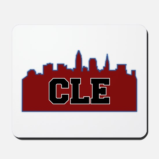 CLE Maroon/Black Mousepad