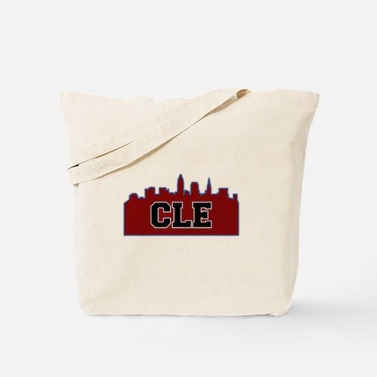 CLE Maroon/Black Tote Bag