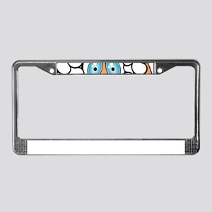 Funny Sheep License Plate Frame