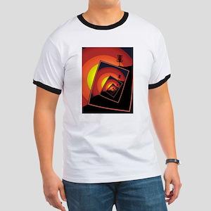 Disc Golf Spinning Basket 4 T-Shirt