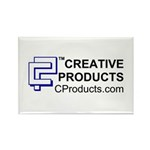 CREATIVE PRODUCTS Rectangle Magnet (100 pack)