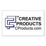 CREATIVE PRODUCTS Rectangle Sticker
