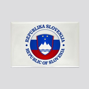 Slovenia (rd) Magnets