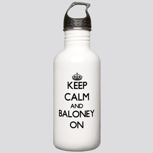 Keep Calm and Baloney Stainless Water Bottle 1.0L