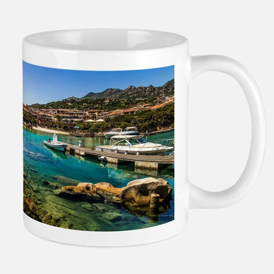 Porto Cervo's little Molo Mugs