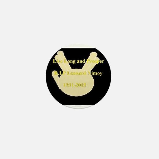 Leonard Nimoy RIP Mini Button