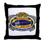USS GREENLING Throw Pillow