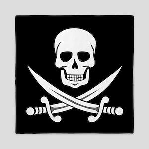 Skull and Crossbones Queen Duvet