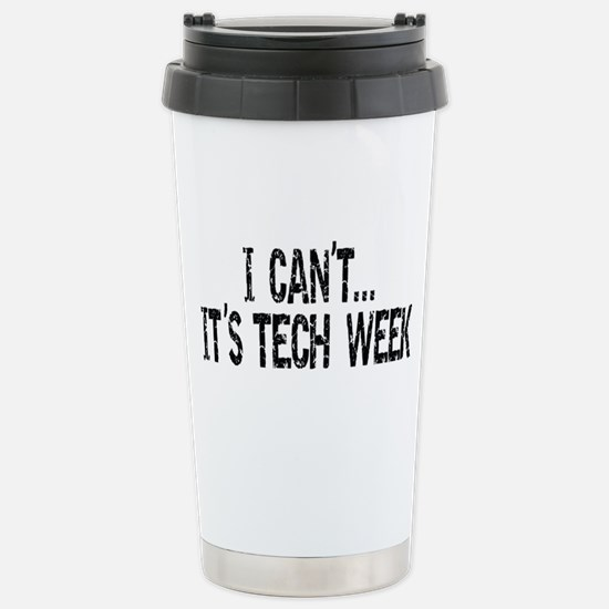 Tech Week Stainless Steel Travel Mug