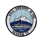 USS GREGORY Button
