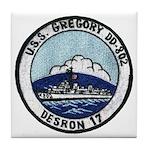 USS GREGORY Tile Coaster