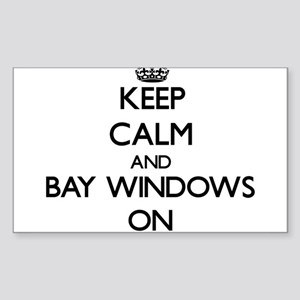 Keep Calm and Bay Windows ON Sticker