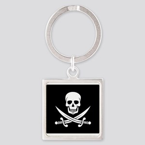 Skull and Swords Jolly Roger Keychains