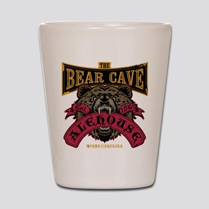 The Bear Cave Alehouse NC Shot Glass