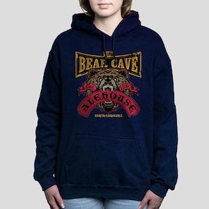 The Bear Cave Alehouse NC Women's Hooded Sweatshir