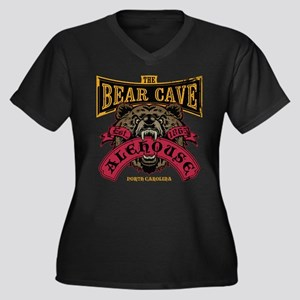 The Bear Cave Alehouse NC Plus Size T-Shirt