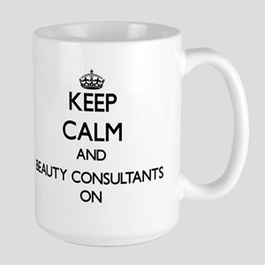 Keep Calm and Beauty Consultants ON Mugs