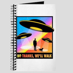 No Thanks, We'll Walk Journal