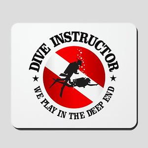 Dive Instructor (Deep End) Mousepad