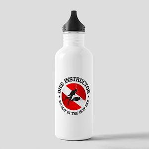 Dive Instructor (Deep End) Water Bottle
