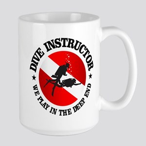 Dive Instructor (Deep End) Mugs