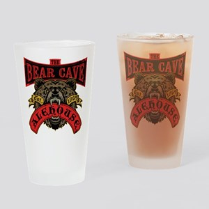 The Bear Cave Aleshouse Drinking Glass