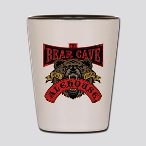 The Bear Cave Aleshouse Shot Glass