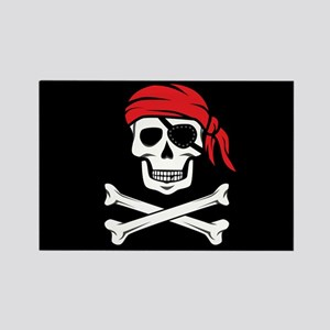 Pirate Skull and Crossbones Magnets