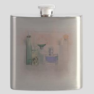 Pastel perfume bottles Flask