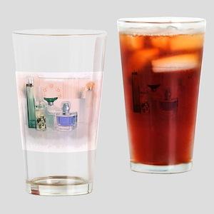 Pastel perfume bottles Drinking Glass
