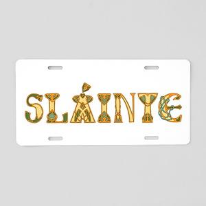 Slainte St. Patrick's Design Aluminum License Plat