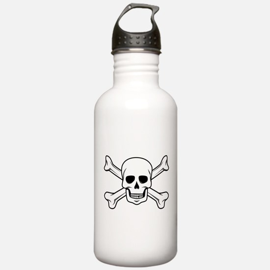 Cute Skull and crossbones Water Bottle