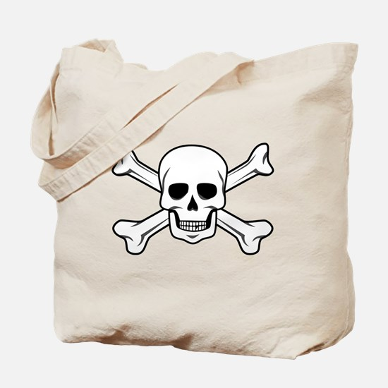 Unique Crossbones Tote Bag