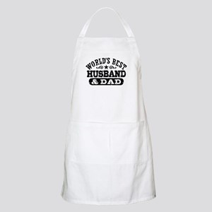 World's Best Husband and Dad Apron