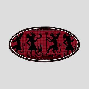 Devil Pattern Patch