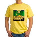 Scout Support Group Yellow T-Shirt