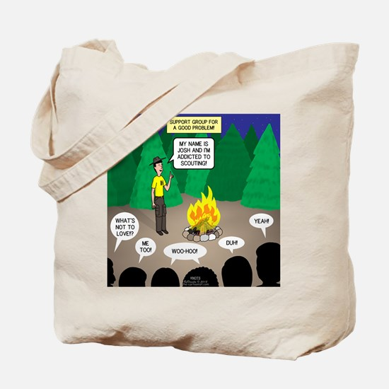 Scout Support Group Tote Bag