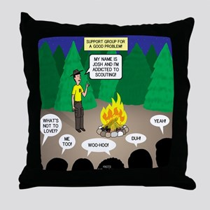 Scout Support Group Throw Pillow