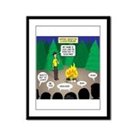 Scout Support Group Framed Panel Print