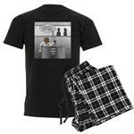 Honey Bear Men's Dark Pajamas