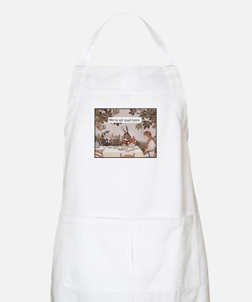 Alice We Are All Mad Here Apron