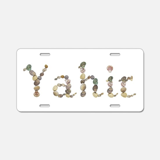 Yahir Seashells Aluminum License Plate